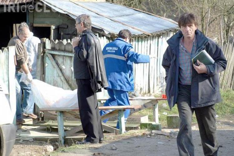 Crima in comuna Unguras, jud. Cluj. O batrana a fost omorata cu sange rece in propria locuinta
