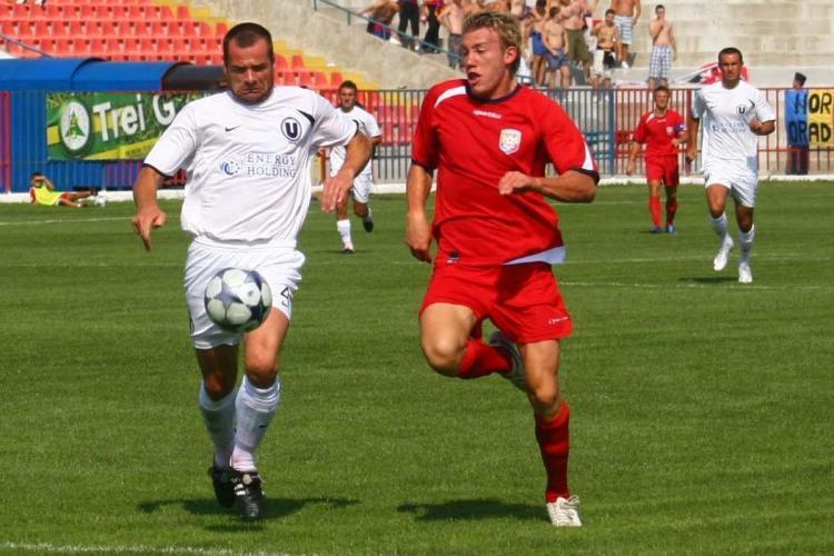 U Cluj-FC Bihor: 1-2. VIDEO -golul de senzatie inscris de Sorian