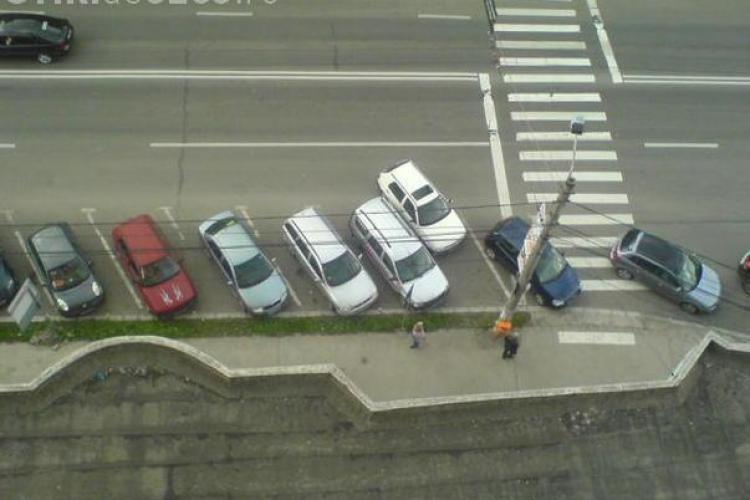 Primaria amenajeaza 700 de locuri de parcare si monteaza noi praguri rutiere