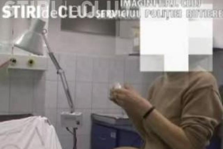 Cea mai beata soferita din Cluj a fost prinsa azi-noapte de politisti pe strada Gheorghe Sincai