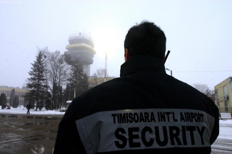 Din nou amenintare cu bomba pe Aeroportul Timisoara