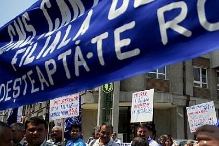 Incepe anotimpul protestelor - Cartel Alfa picheteaza saptamana viitoare la Cluj