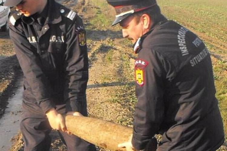 O bomba germana din cel de-al doilea Razboi Mondial a fost gasita la Autostrada Transilvania
