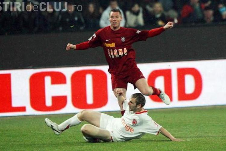 Calificarea in finala Cupei se joaca la Cluj. In Stefan cel Mare, CFR a terminat la egalitate cu Dinamo