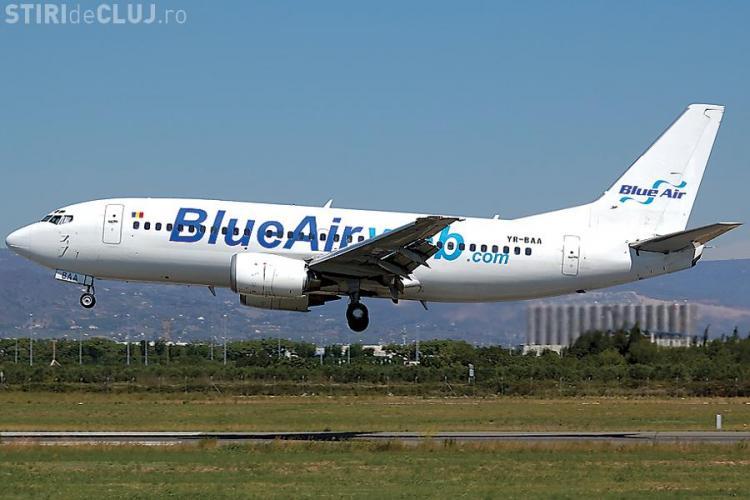 Astazi intre 15,00-24,00 orice bilet la Blue Air 29,99 euro