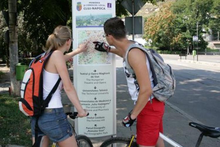 Turistii straini ocolesc judetul Cluj in 2010