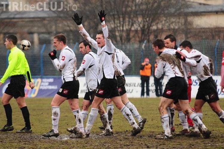 Universitatea Cluj a castigat la masa verde partida cu FC Baia Mare