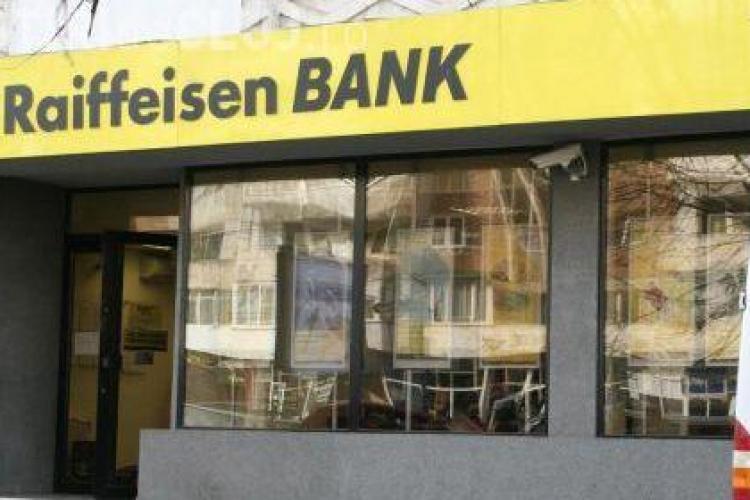 Tentativa de jaf la Raiffeisen Bank in Baia Mare