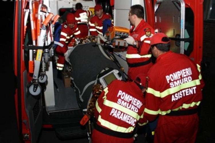 Accident grav pe Calea Turzii. Un autoturism Skoda a intrat pe contrasens in Mercedes-ul unui olandez - VIDEO