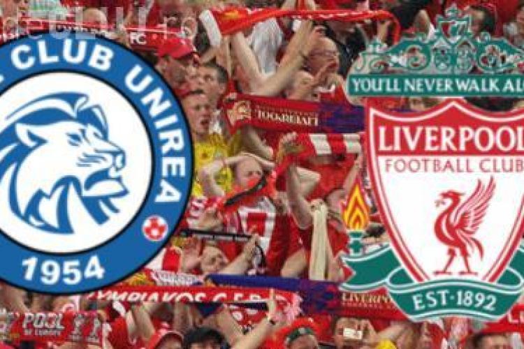 Unirea Urziceni - Liverpool 1-3, FINAL