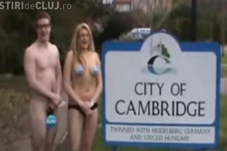 """Naked News"" la celebra universitate Cambridge - VIDEO"