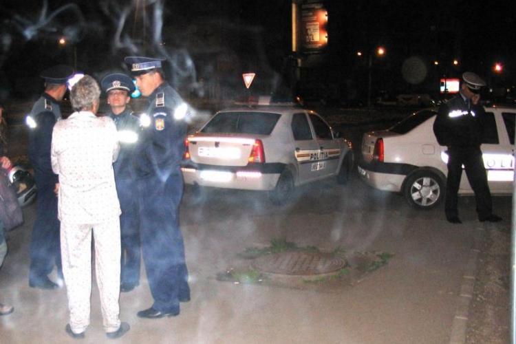 Un barbat a fost injunghiat in Piata Garii din Cluj-Napoca, in urma unei altercatii