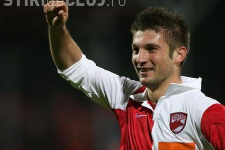 Andrei Cristea, cel care a ingenunghiat ultima data CFR Cluj in Cupa Romaniei, nu joaca diseara