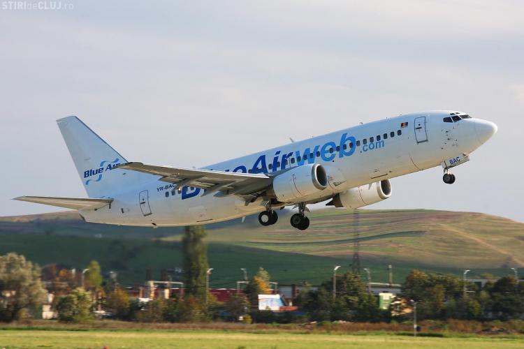 Blue Air paraseste Clujul si se muta la Sibiu