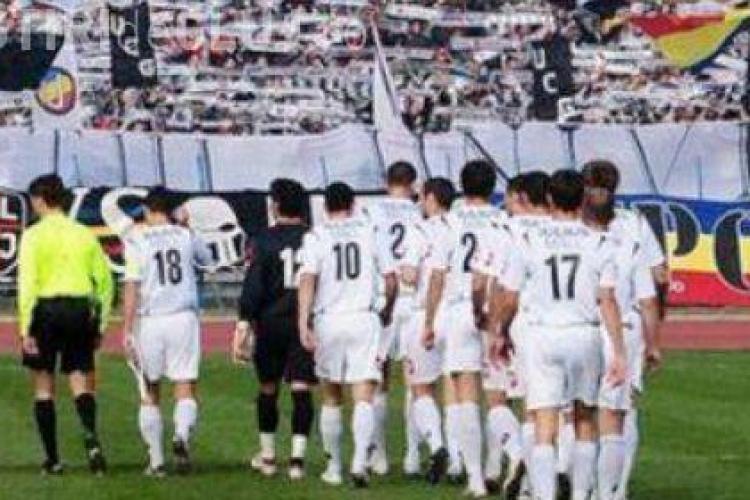 Meciul U Cluj - FC Bihor, de sambata, amanat din cauza vremii