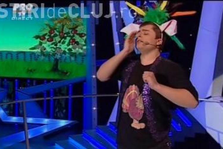 """Marius Cosofret a imitat animale in semifinala de la """"Romanii au talent"""" - VIDEO"""