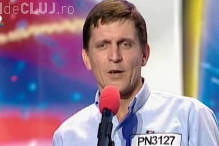 """Claudiu Udrea, Frank Sinatra de la """"Romanii au takent!"""" - VIDEO"""