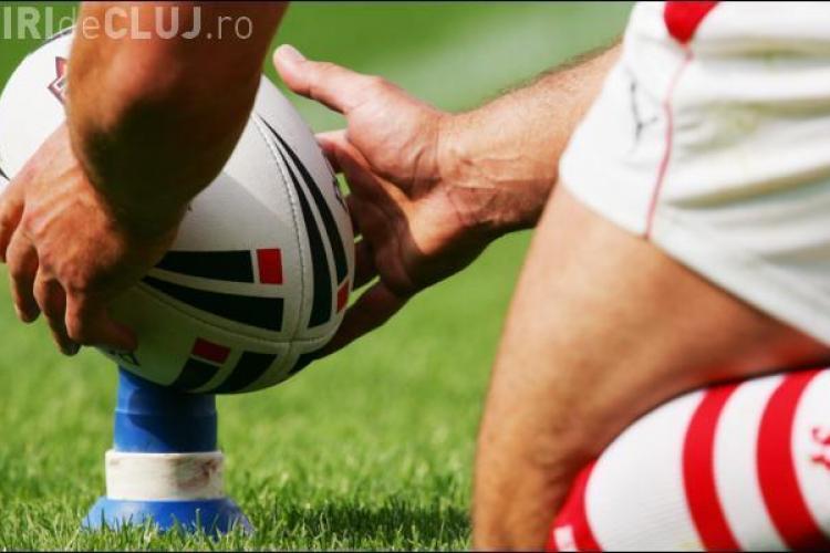 Bataie la meciul de rugby U Cluj - Dinamo, scor 14-20!