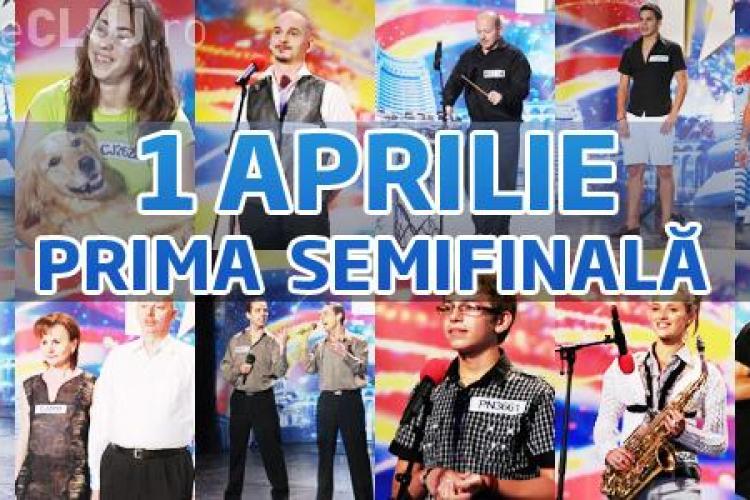 Semifinala 1 - Romanii au talent! Narcis Iustin Ianau revine pe scena in 1 aprilie