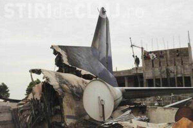 Un avion al ONU s-a prabusit pe un aeroport din Congo