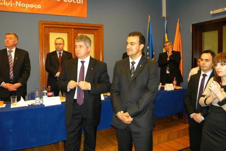 Sorin Apostu, noul presedinte al PDL Cluj Napoca! VEZI ce a declarat - VIDEO