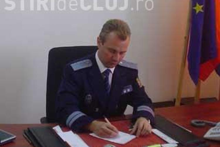 Politia clujeana a tinut sub pres suspendarea permisului sefului Scolii de Agenti de Politie, comisarul Laurentiu Stoica - AUDIO