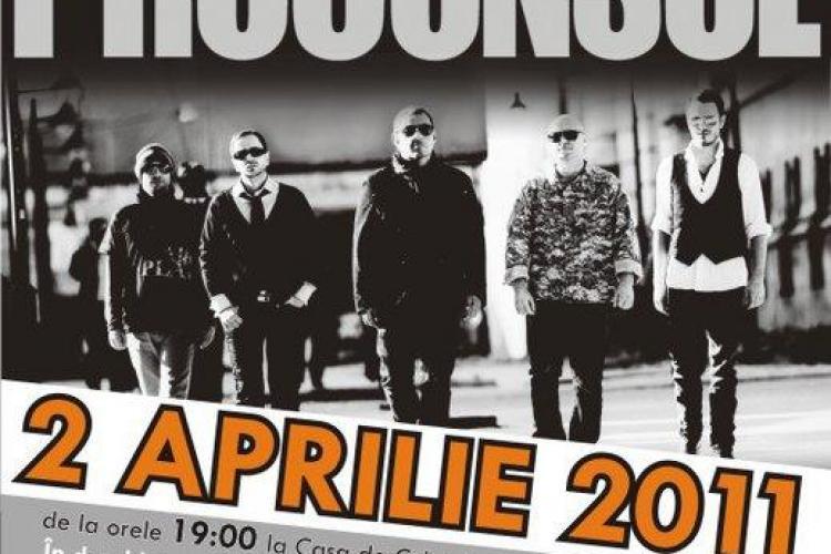 Concert caritabil Proconsul la Cluj in 2 aprilie!