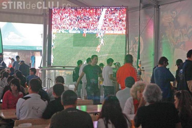 Suporterii Nationalei pot urmari HD la Cluj meciul dintre Bosnia si Romania in Clubul Campionilor de pe stadionul Dr. Constantin Radulescu