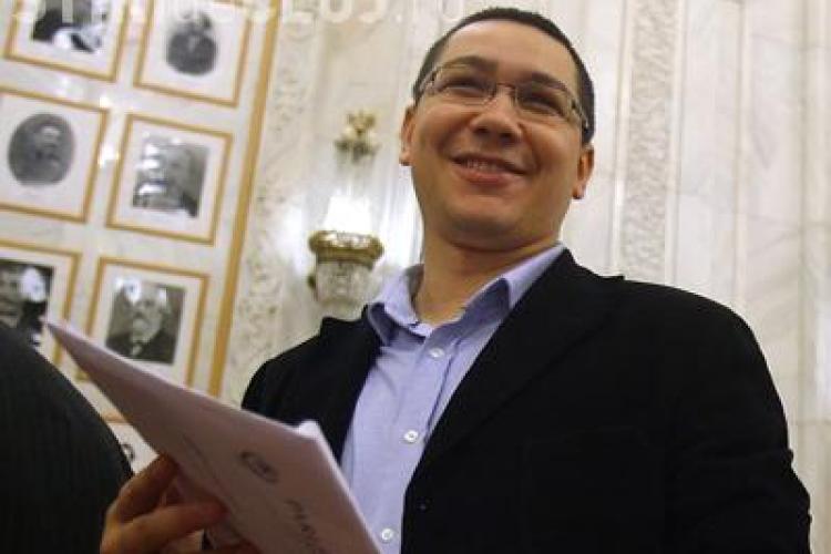 Victor Ponta, Rus si Dancu, primiti de noul Mitropolit al Clujului, IPS Andrei Andreicut