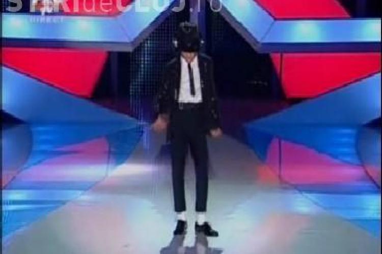 """Alin Imre, micul Michael de la """"Romanii au talent"""", a dansat extraordinar - VIDEO"""