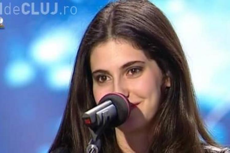 """Alma Boiangiu, o frumoasa cantareata, trece in semifinala la """"Romanii au talent"""" - VIDEO"""