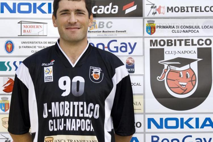 Pivotul lui U Mobitelco, Zoran Krstanovic, desemnat jucatorul etapei de Federatia de Baschet