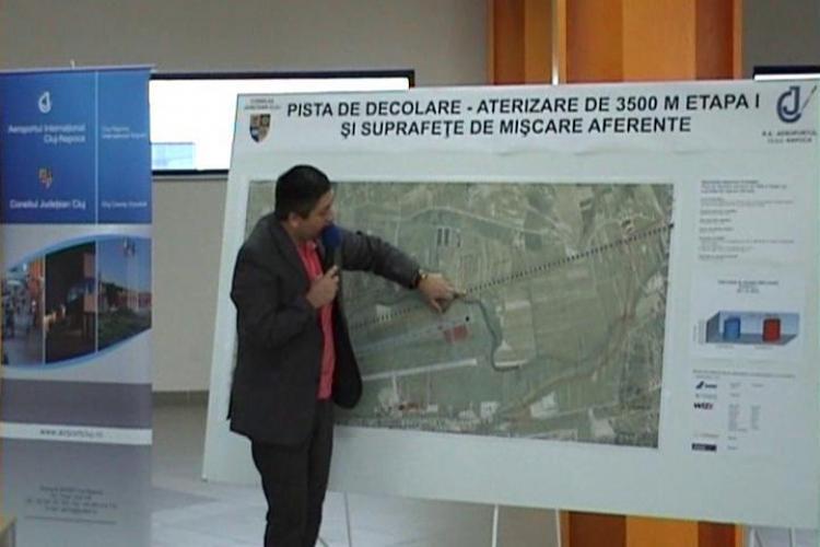 Incep exproprierile pentru construirea pistei Aeroportului Cluj si devierea Somesului - VEZI explicatiile