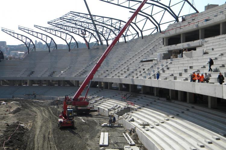 "Vezi cum vor arata noile scaune de pe stadionul ""Cluj Arena"" - FOTO"