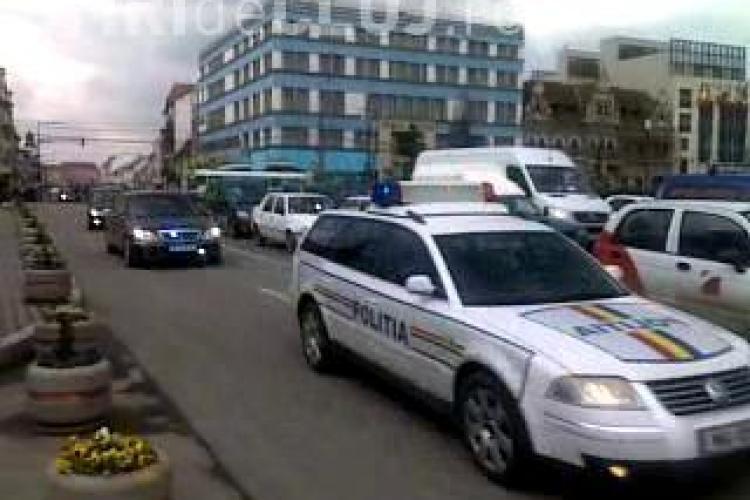Ministrul de externe al Ungariei, tratat ca un sef de stat la Cluj! - STIREA CITITORULUI - VIDEO