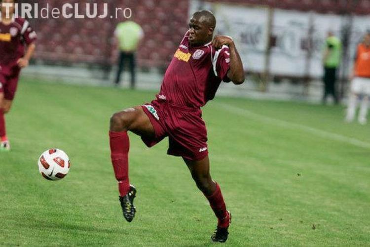 Jucatorul lui CFR Cluj, Dominique Kivuvu, a fost convocat la Nationala Angolei