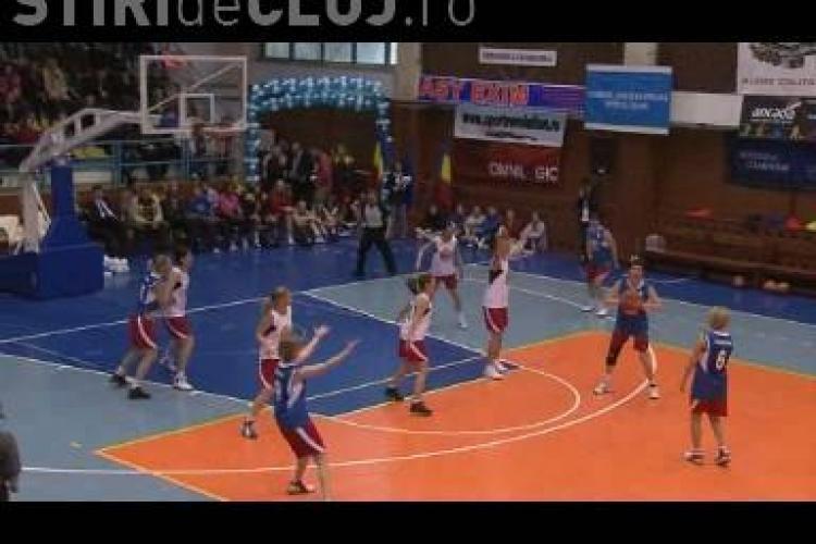 All star Game -ul baschetului feminin s-a jucat la Dej! Vezi cine a castigat si ce surprize au fost - VIDEO