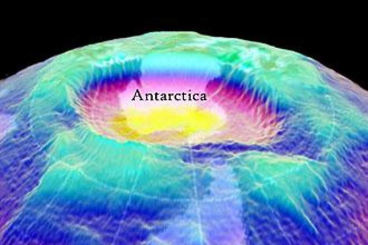 Gaura din stratul de ozon va traversa Romania! O expunere de 20 de minute poate avea efecte grave