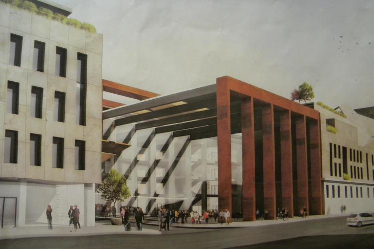 Hotelul si parkingul Centrului Cultural Transilvania vor costa 70 de milioane de lei!