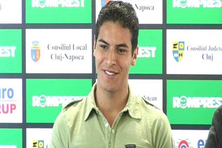 Atacantul U Cluj, Gabriel Machado, ar juca pentru nationala Romaniei! - VIDEO