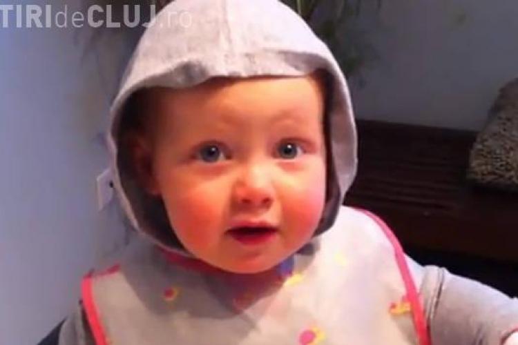 Bebelus de un an si sase luni care injura de mama focului! - VIDEO