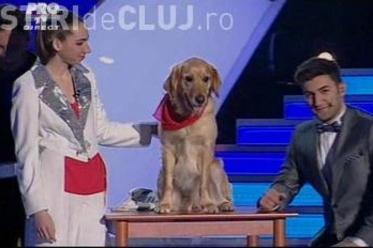 "Bernadette si catelusa Vanda nu au impresionat la ""Romanii au talent"" - VIDEO"