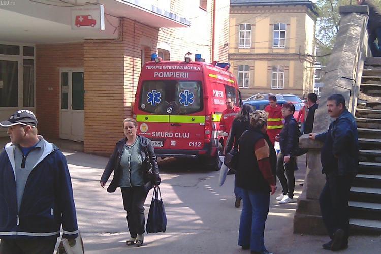 Accident pe strada Motilor! Un tanar de 17 ani a fost ranit grav