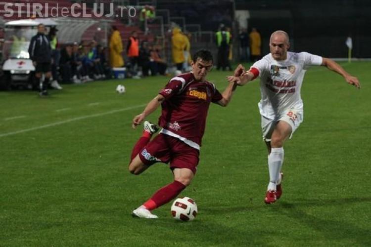 FCM Targu Mures - CFR Cluj 0-0! Clujenii sunt la al treilea meci fara victorie VIDEO - VEZI fazele importante