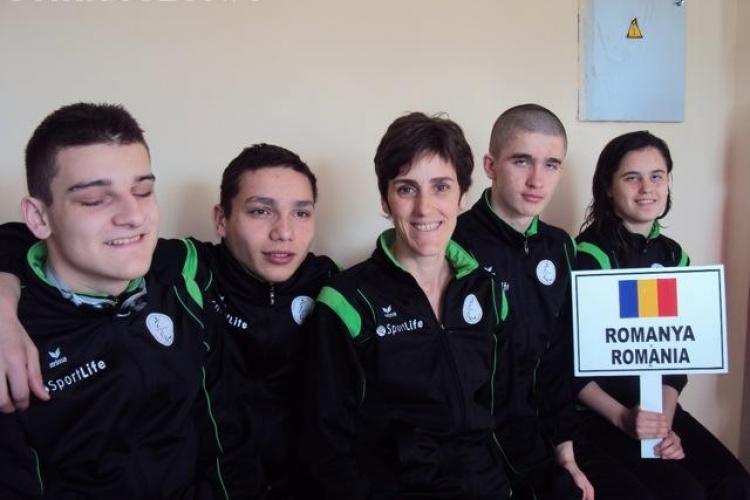 Medalii de aur, argint si bronz la Campionatul Mondial din Turcia pentru inotatorii de la Liceul de Nevazatori din Cluj