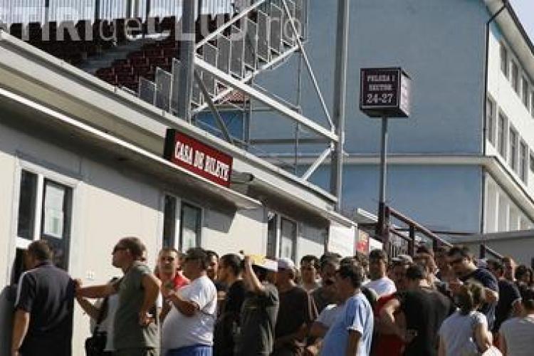 CFR Cluj a inchis casele de bilete cu 8 ore inainte de meci! S-au vandut numai 6.000 de bilete - VEZI explicatiile
