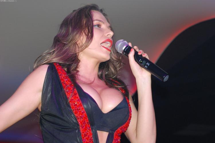 Anna Lesko, concert incendiar in Bamboo - Galerie FOTO