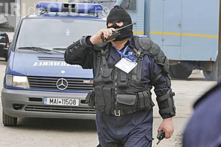 Jaf armat la o filiala BCR din Bucuresti