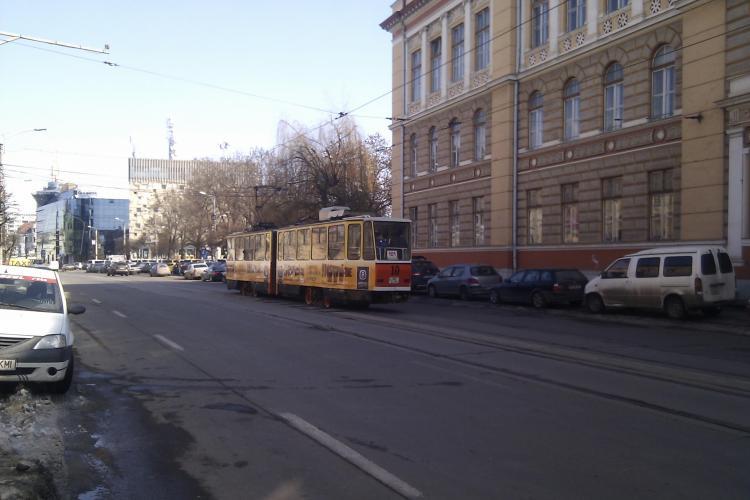 Firma care va reabilita linia de tramvai din Cluj Napoca va fi aflata in urmatoarele zile