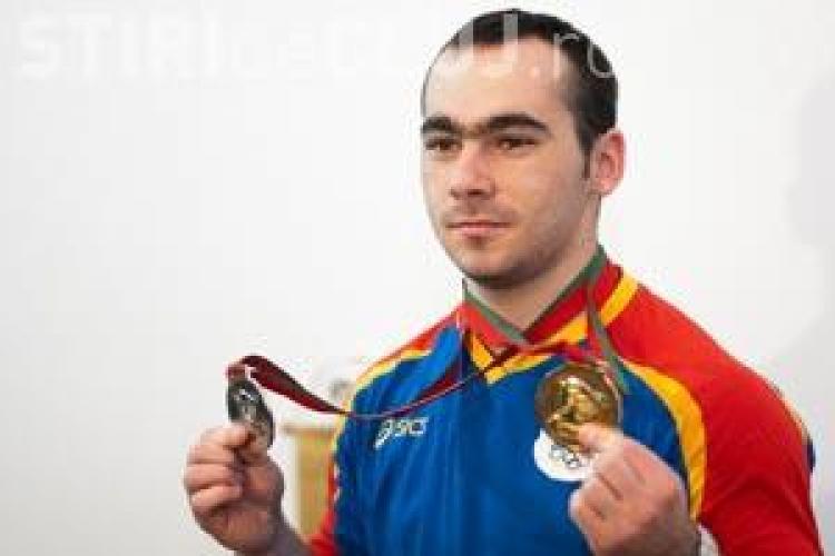 Sportivul clujean Antoniu Buci, dublu medaliat cu argint la Campionatul European de haltere din Rusia